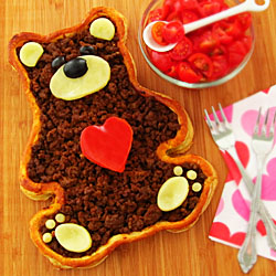 Teddy Bear Taco Tart