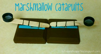 Marshmallow Catapults
