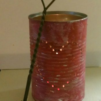 Valentine Tin Can Luminary