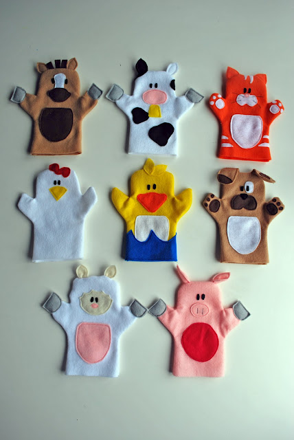 Old McDonald Hand Puppets