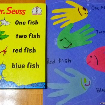 One Fish, Two Fish Hand Print Fish