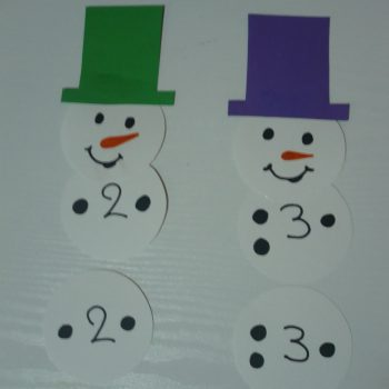 Snowman Counting Game