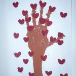 Handprint Tree of Hearts