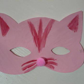 Cat and Bat Masks