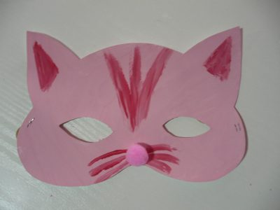 Cat and Bat Masks