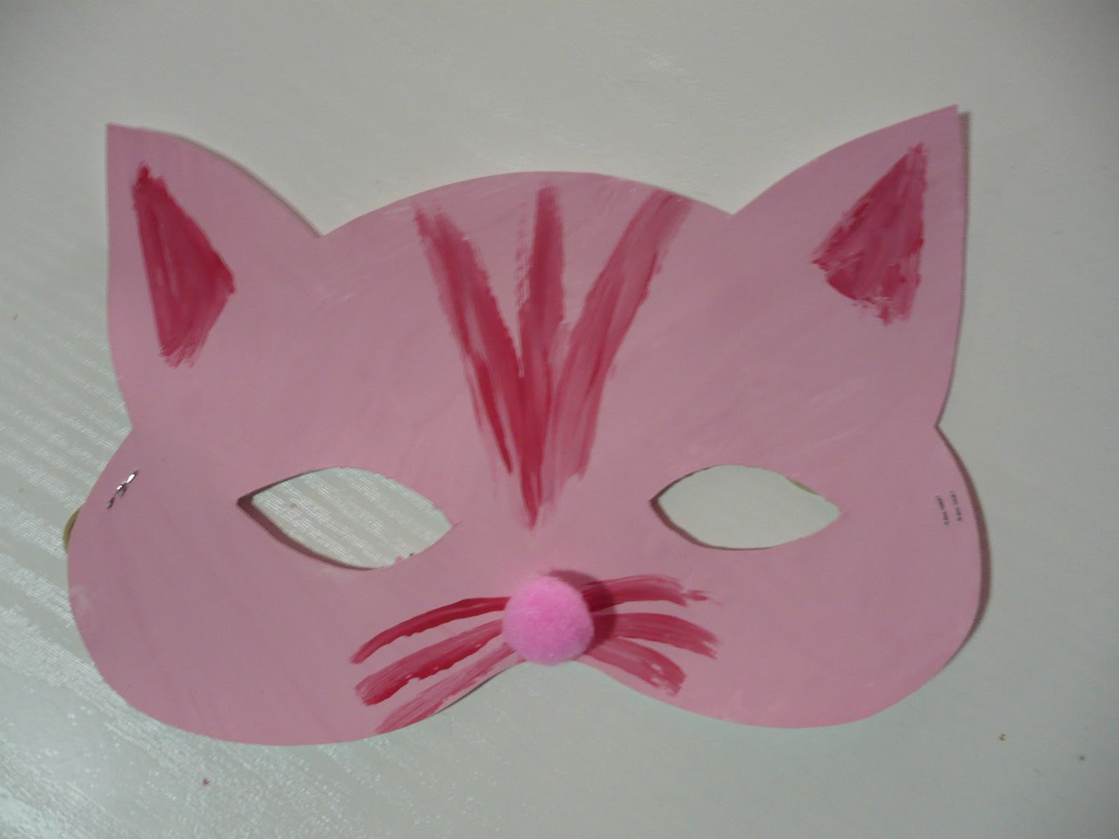 cat and bat masks fun family crafts On kitten crafts for preschoolers