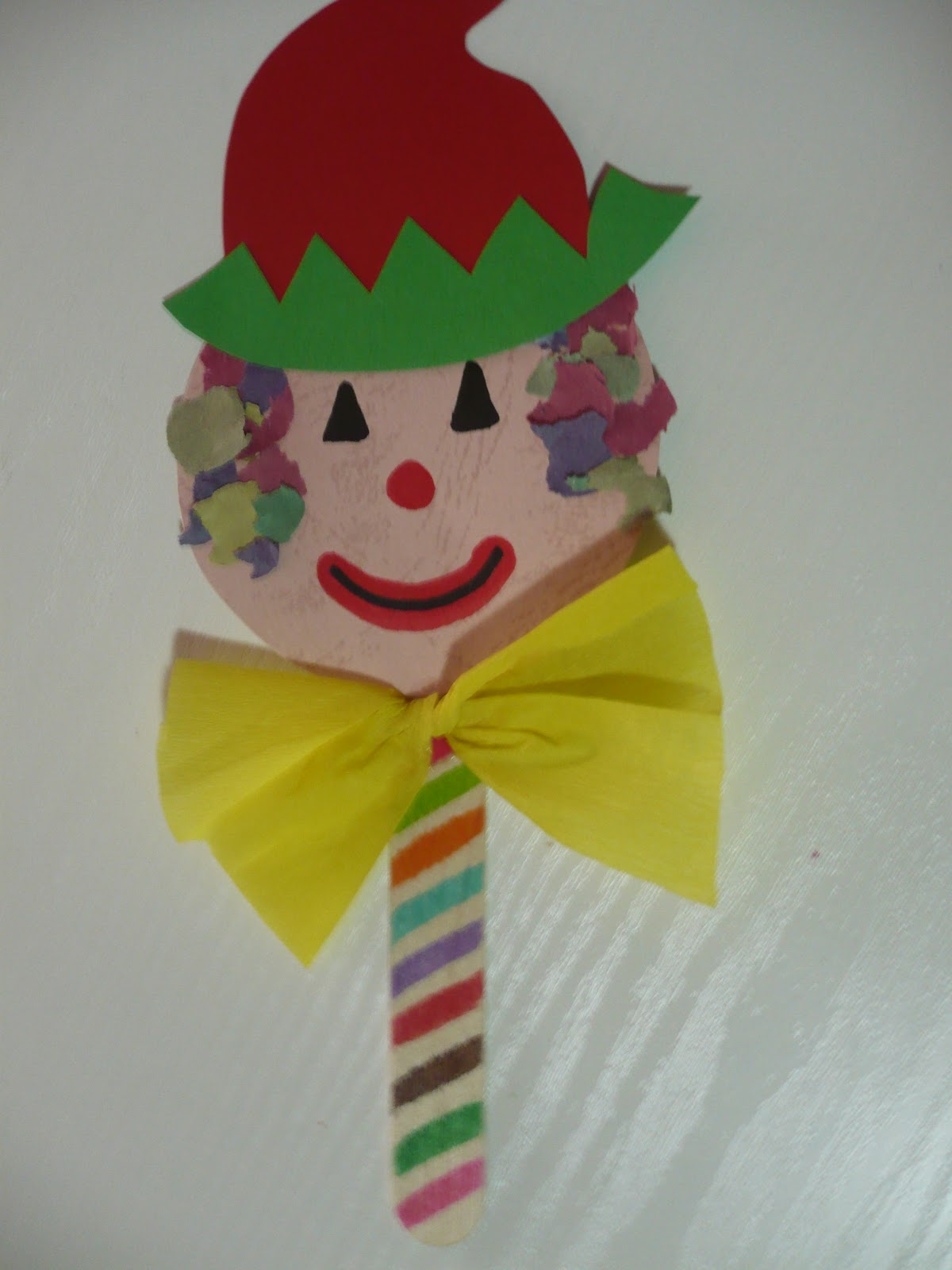 Craft Stick Clown Puppet & clown Archives | Fun Family Crafts
