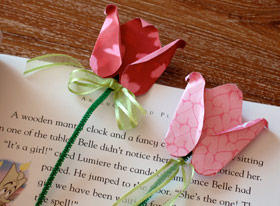 Rose Valentine Bookmarks