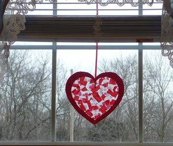 Valentine Sun Catcher
