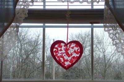 valentine sun catcher fun family crafts