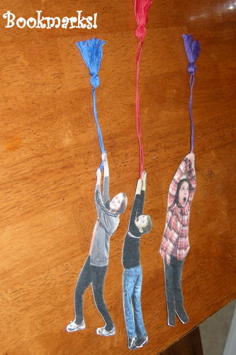 You re a bookmark fun family crafts for Cool ways to make bookmarks