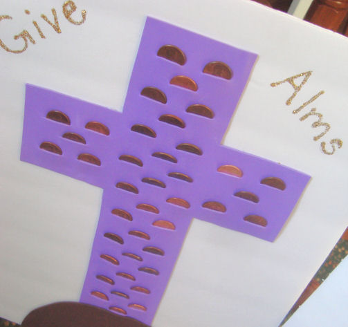 Almsgiving Cross Fun Family Crafts