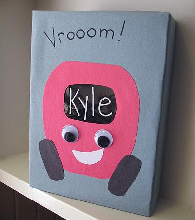 Car Themed Valentine Box