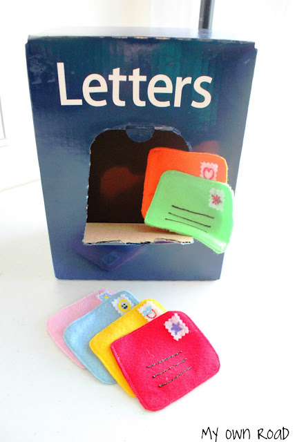 Cardboard Box Mailbox