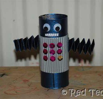 Cardboard Tube Robot