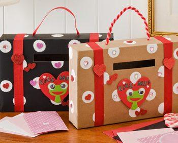 Cereal Box Valentine Holder