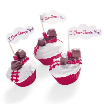 I Choo-Chose You Cupcakes
