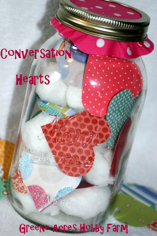 Dinner Conversation Hearts