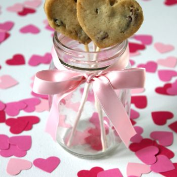 Valentine's Day Cookie Pops