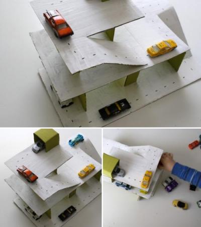 Cardboard Parking Deck