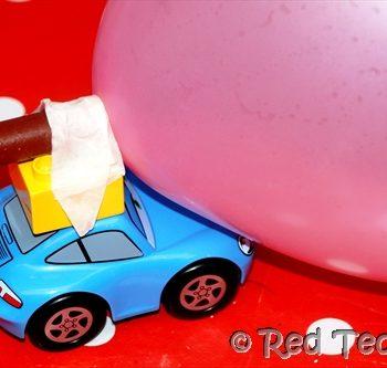Balloon Car Racing