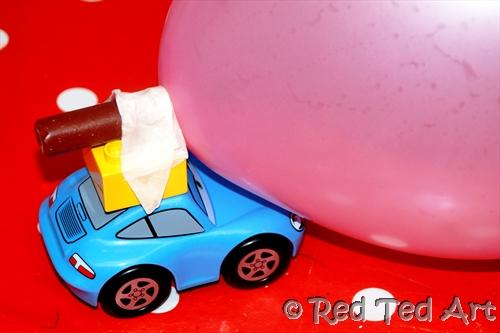 Balloon Car Racing Fun Family Crafts