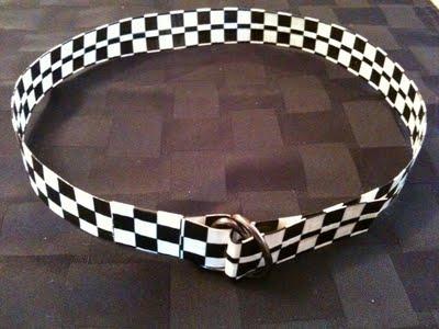 Duct Tape Belt