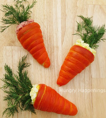 Easter Carrot Crescents