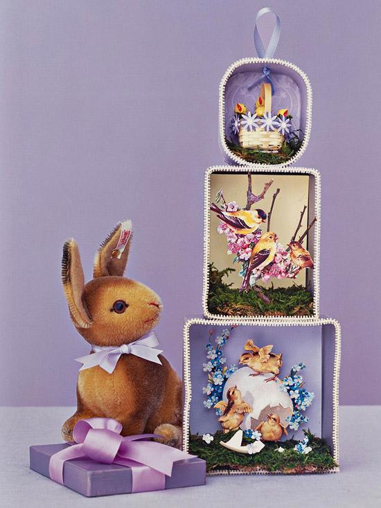 Easter Diorama Fun Family Crafts