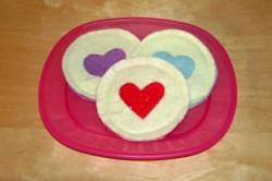 Felt Heart Cookies