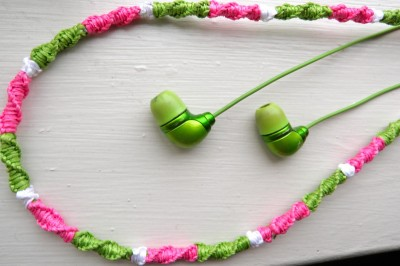 Friendship Bracelet Headphones