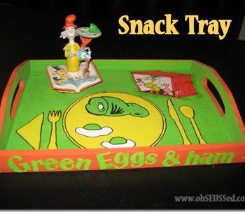 Green Eggs & Ham Snack Tray