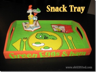 Green Eggs & Ham Snack Tray