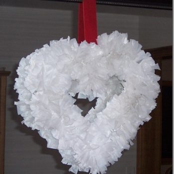 Grocery Bag Wreath