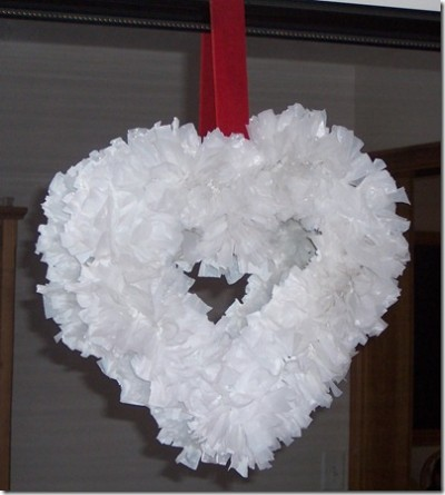 Grocery Bag Wreath