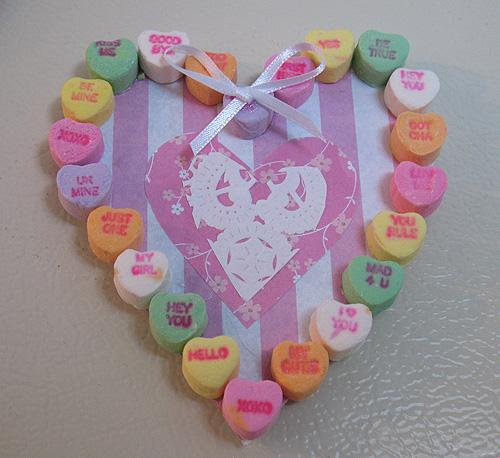 Conversation Heart Magnet