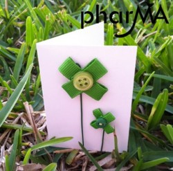 Lucky Mini Shamrock Card