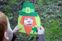 Magic Leprechaun Mirror