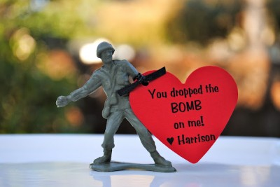 Military Men Valentines