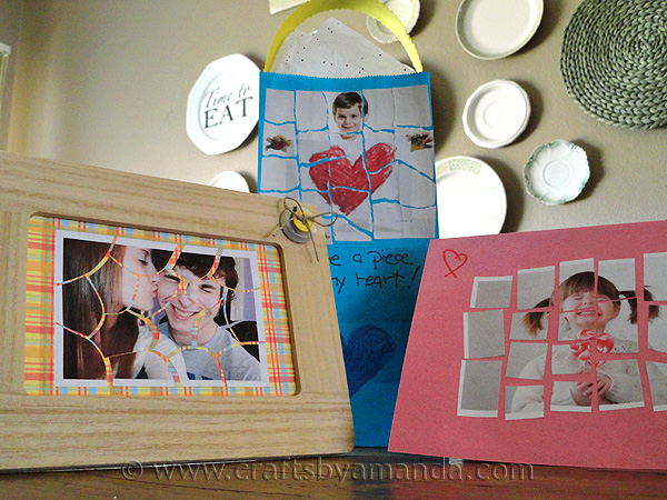 Mosaic Photo Valentines Fun Family Crafts
