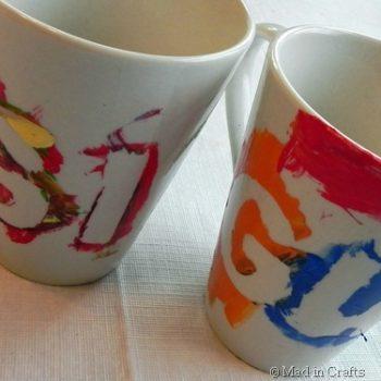 Preschool Painted Mugs