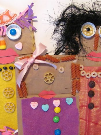 Paper Bag Puppets Inspired by Fandango