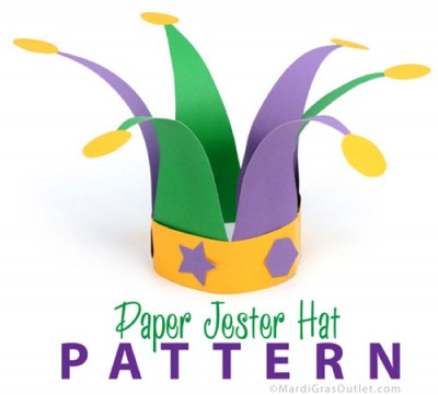 Jester Hat Fun Family Crafts