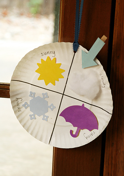 weather craft ideas for preschoolers paper plate weather chart family crafts 7318