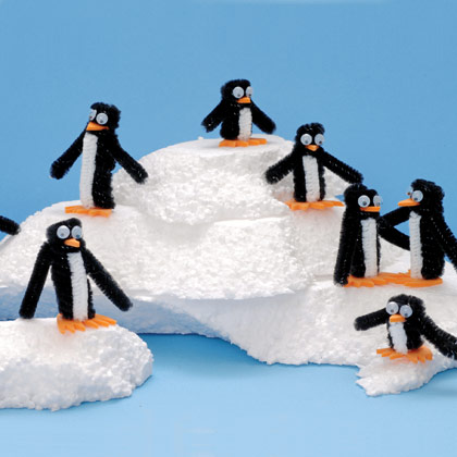 Pipe Cleaner Penguins