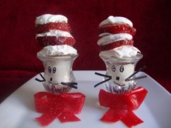 Cat in the Hat Strawberry Shortcake Treats