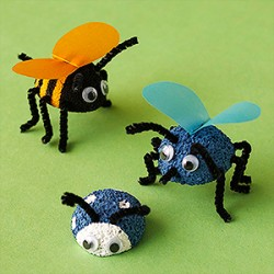 Styrofoam Bugs