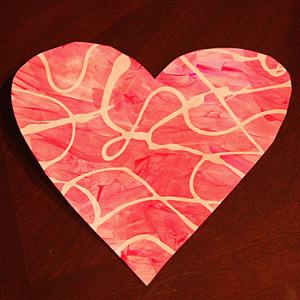 Swirly Valentine