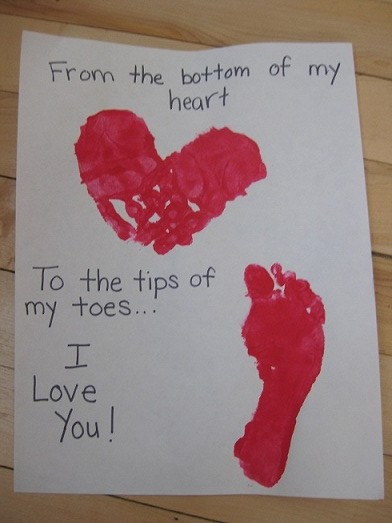 From the Bottom of My Heart to the Tips of My Toes, Valentine