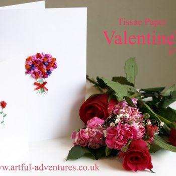 Tissue Paper Valentines